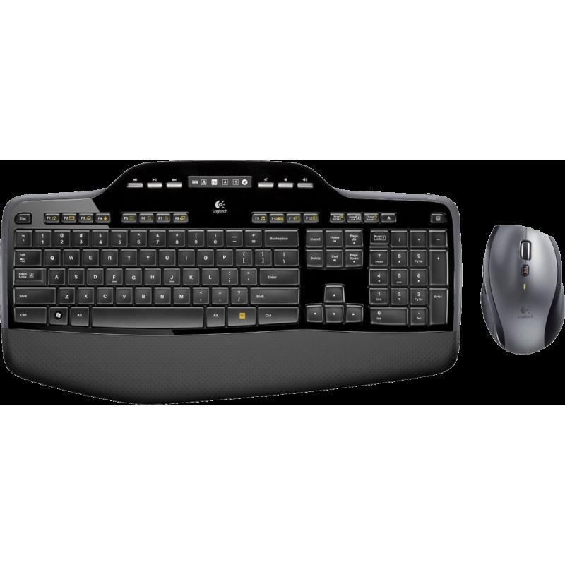 Brezžični komplet Logitech Desktop MK710 (miška, tipkovnica)