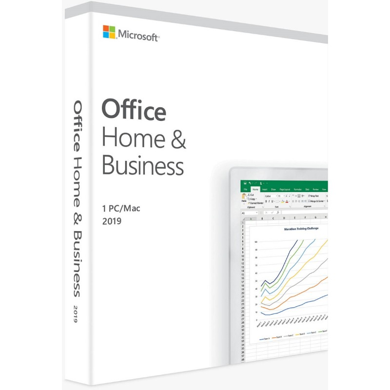 Microsoft Office Home&Business 2019 32/64bit SLO FPP (T5D-03212)