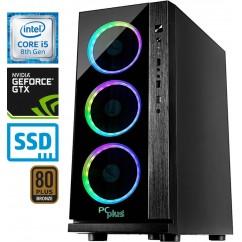 Računalnik PCPLUS Gamer i5-8400 GTX1060-6 8/240 SSD