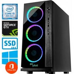Računalnik PCPLUS Gamer i5-8400 GTX1060-6 8/240 SSD WIN