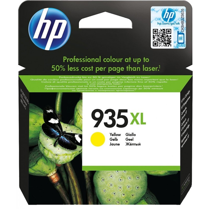 Kartuša HP 935 XL (C2P26AE) YELLOW