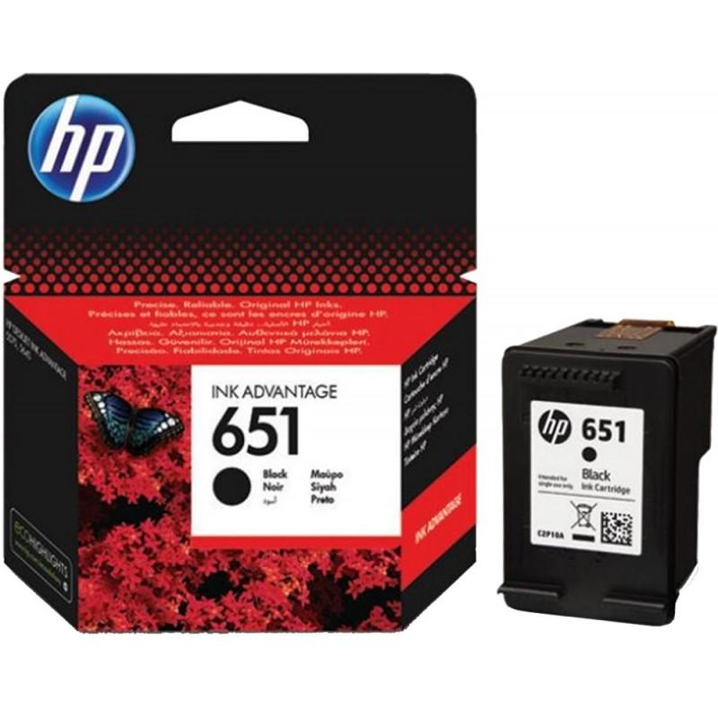 Kartuša HP 651 (C2P10AE) črna