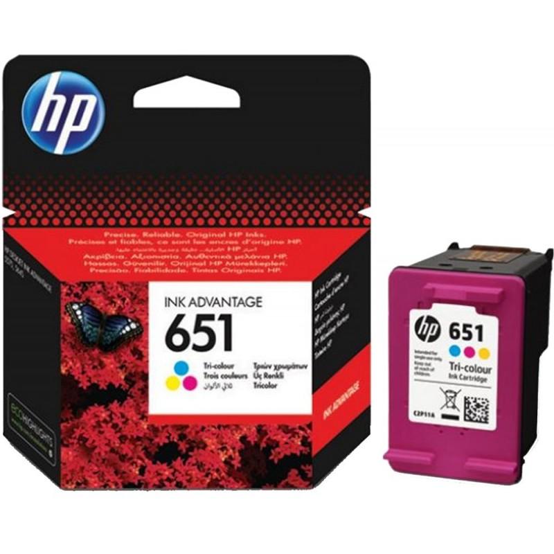 Kartuša HP 651 (C2P11AE) Barvna