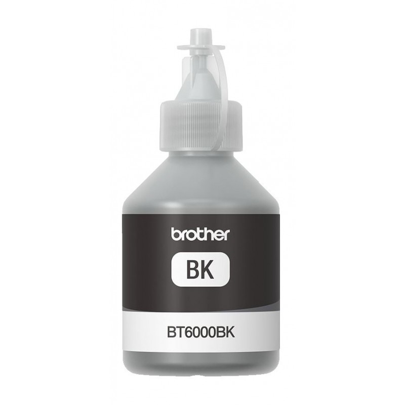 Črnilo Brother črno (BT6000BK) steklenička