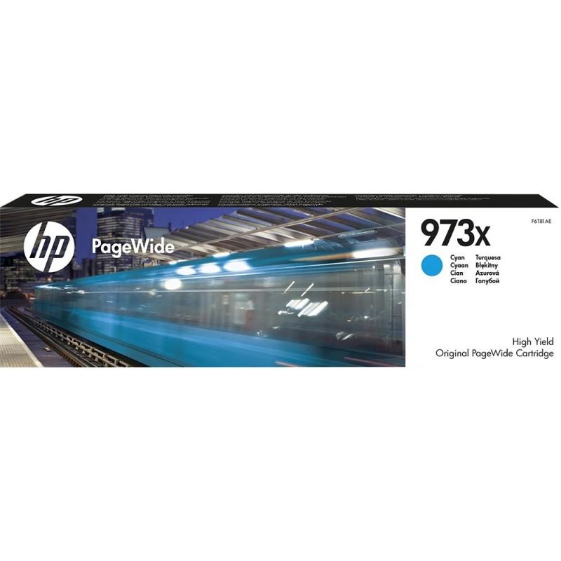 Kartuša HP 973X (F6T81AE) Cyan