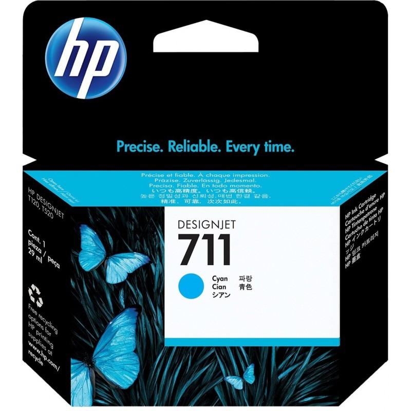 Kartuša HP 711 (CZ130A) Cyan