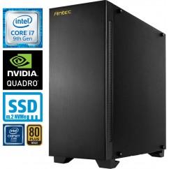 Računalnik MEGA 9000 Workstation i7-9700KF 5SSD16 2T Quadro RTX4000