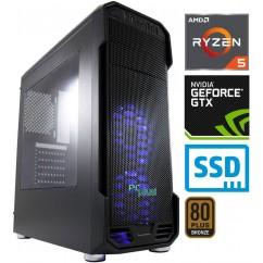 Računalnik PCPLUS Gamer Ryzen 5 3600 2SSD16 1T GTX1660