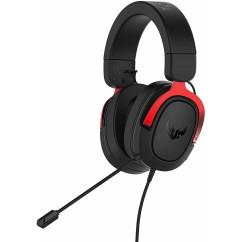 Slušalke ASUS TUF Gaming H3, rdeče