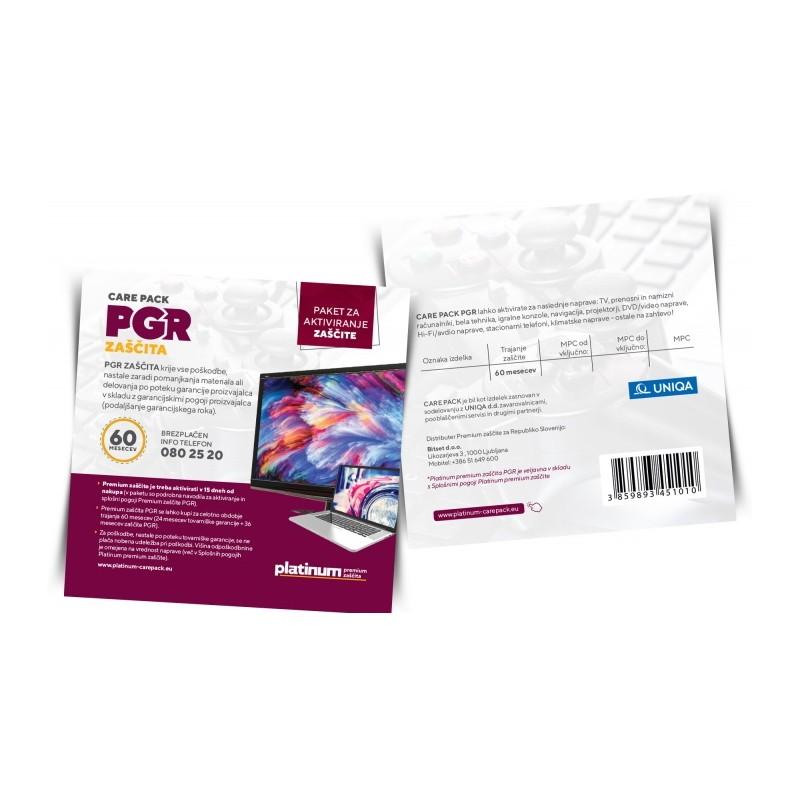 Platinum PREMIUM zaščita PGR Care Pack - 5 let PGR30060 (501 - 1000 EUR)