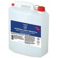 Razkužilo za roke 5L, 75% Alkohola (dezinfekcijsko sredstvo) + 160 kos 30ml flaška z razpršilko