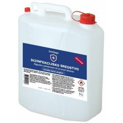Razkužilo za površine 5L, 75% Alkohola (dezinfekcijsko sredstvo) + 50 kos 100ml flaška z razpršilko