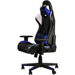 Gamerski stol BYTEZONE Winner LED (GC9222B), Črn/Moder