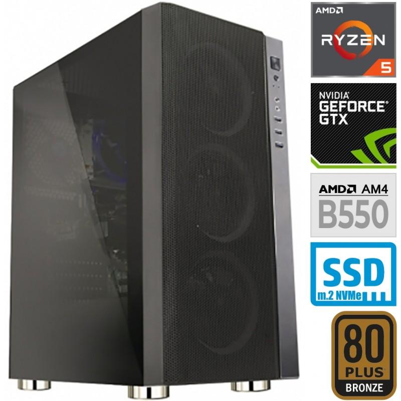 Računalnik MEGA 6000Y Ryzen 5 3600 2SSD8 1T GTX1650