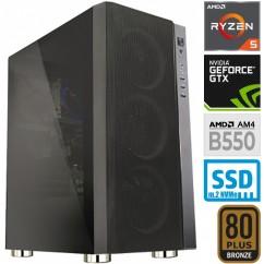 Računalnik MEGA 6000Y Ryzen 5 3600 5SSD16 GTX1650 SUPER