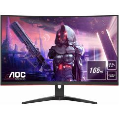 "Monitor AOC CQ32G2SE 31.5"" VA QHD LED LCD 165Hz 1ms Curved"