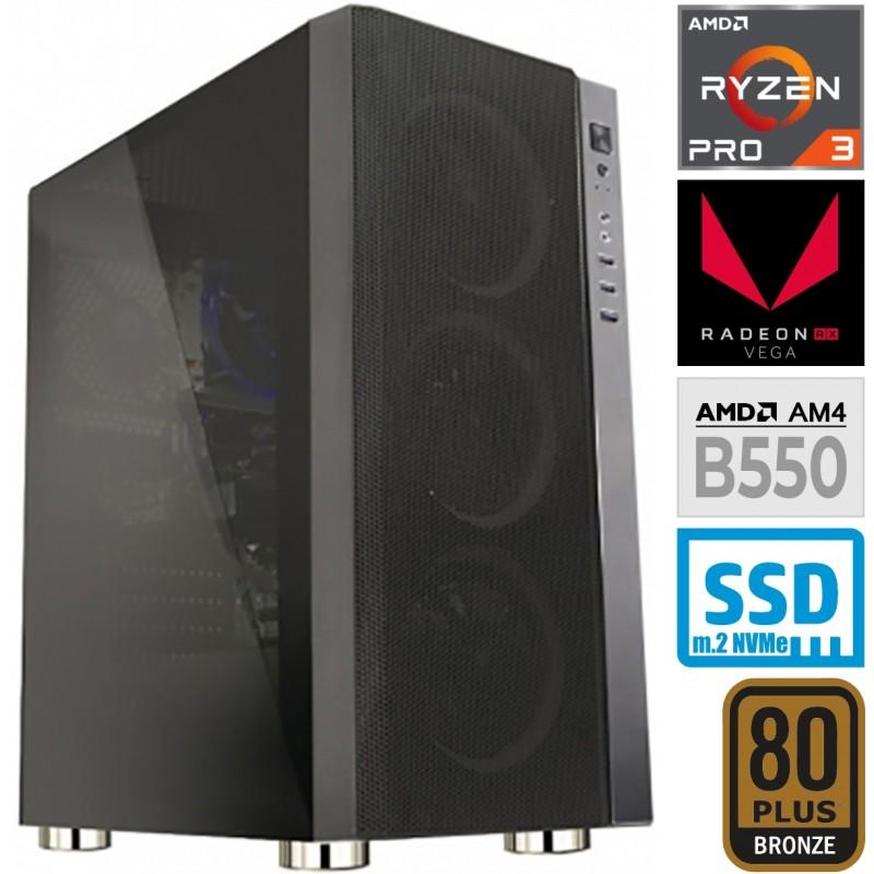 Računalnik MEGA 6000Y Ryzen 3 PRO 4350G 5SSD16 2T VEGA 6