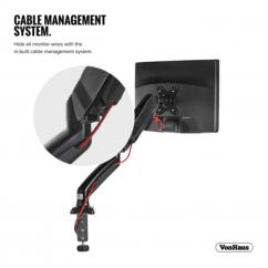 Enojni namizni nosilec za monitor do diagonale 27'' VonHaus (VONTV-05/118)