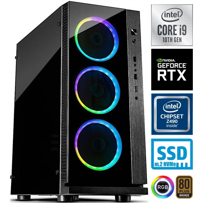 Računalnik PCPLUS Dream Machine i9-10900F 10SSD32 2TB RTX3080 W10+Office