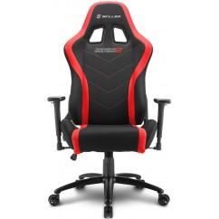 Gamerski stol SHARKOON SKILLER SGS2 (138925) črno/rdeč