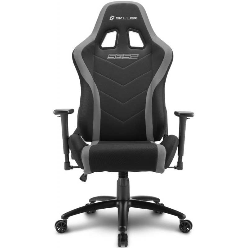 Gamerski stol SHARKOON SKILLER SGS2 (138350) črno/siv