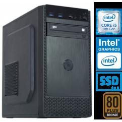Računalnik MEGA 4000B Business i5-9500 5SSD8 DVD