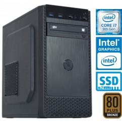 Računalnik MEGA 4000B Business i7-9700 5SSD8 DVD