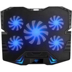 Hladilnik za prenosnik HAVIT GameNote HV-F2082, Črn