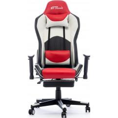 Gamerski stol BYTEZONE Dolce (BZ5813R), črno/rdeč