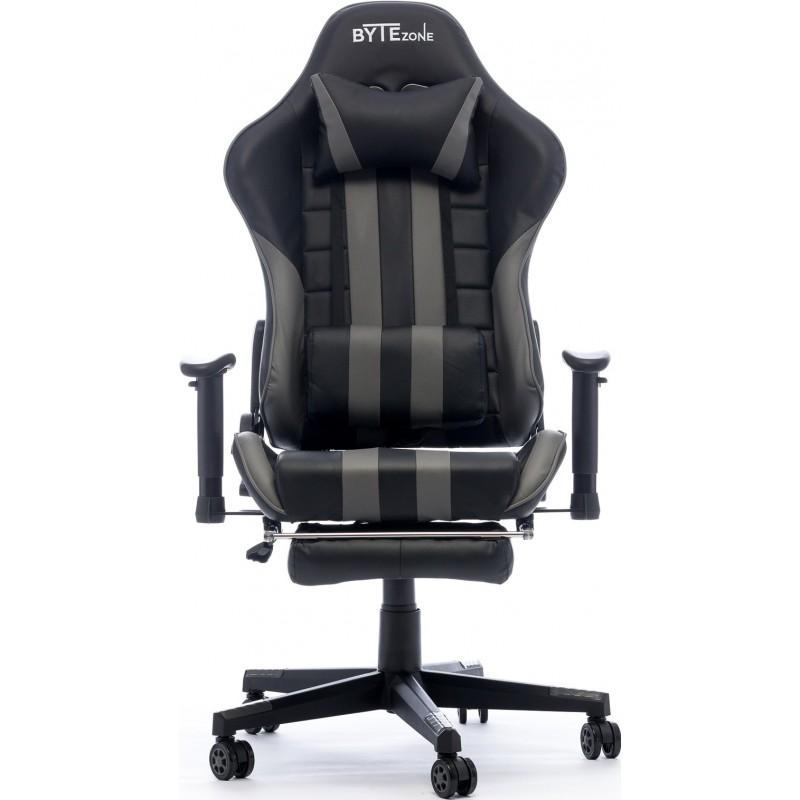 Gamerski stol BYTEZONE Python (BZ5960B), črno/siv