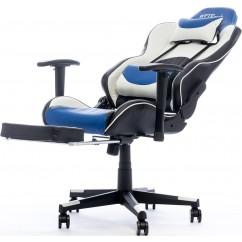 Gamerski stol BYTEZONE Dolce (BZ5813B), črno/moder