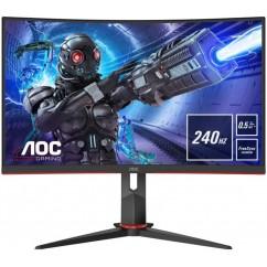 "Monitor AOC C27G2ZU/BK 27"" VA FullHD LED LCD 240Hz 1ms Ukrivljen"