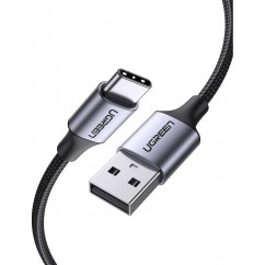 Kabel Ugreen USB-A na USB-C 1,5m črn (UGRTI-60127)