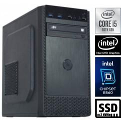 Računalnik MEGA 4000B Business i5-10500 5SSD8 DVD