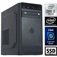 Računalnik MEGA 4000B Business i3-10100 2SSD8 DVD