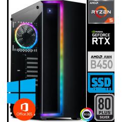 Računalnik PCPLUS Hopsi Ryzen 5 3600 10SSD16 GTX 1660 SUPER RGB